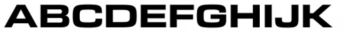 Bi Bi Demi Expanded Font UPPERCASE