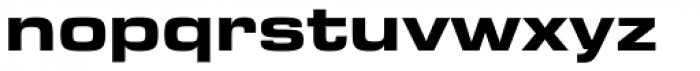 Bi Bi Demi Expanded Font LOWERCASE