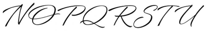 Bianca Basic Font UPPERCASE
