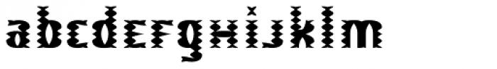 Biba Babe EF Bright Font LOWERCASE