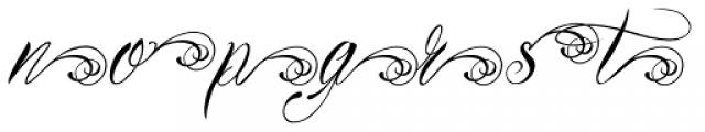 Bibiana Alt End Italic Font LOWERCASE