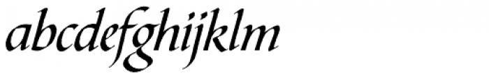Bible Script Std Font LOWERCASE