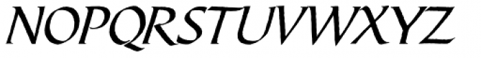 Bible Script Font UPPERCASE