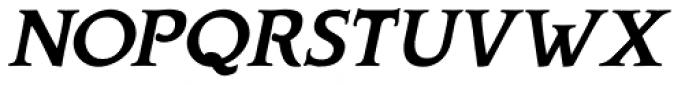 Biblia Serif Bold Italic Font UPPERCASE