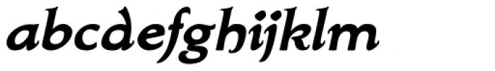 Biblia Serif Bold Italic Font LOWERCASE