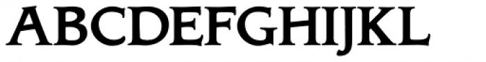 Biblia Serif Bold Font UPPERCASE