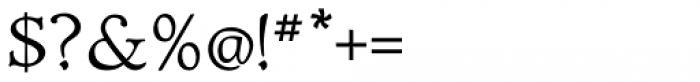 Biblia Serif Font OTHER CHARS