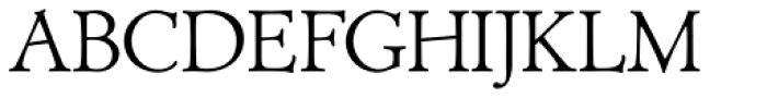 Biblia Serif Font UPPERCASE