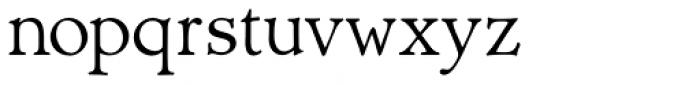 Biblia Serif Font LOWERCASE