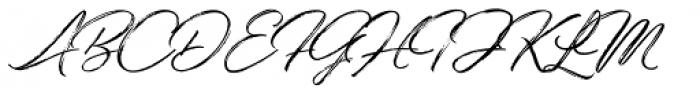 Bidaq Brush Font UPPERCASE