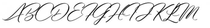 Bidaq Light Font UPPERCASE