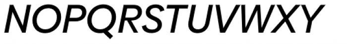 Biennale Medium Italic Font UPPERCASE