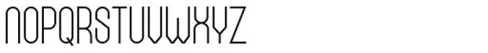 Bieta Light Font UPPERCASE
