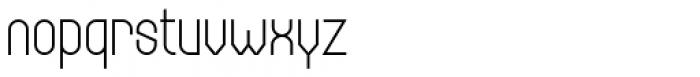 Bieta Light Font LOWERCASE