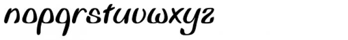 Biffo Std Font LOWERCASE