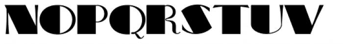Big Apple NF Font UPPERCASE