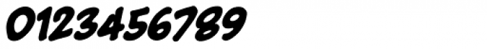Big Bad Bold BB Italic Font OTHER CHARS
