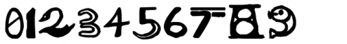 Big Ballpen Font OTHER CHARS