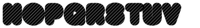 Big Black Grey Xtra Font UPPERCASE