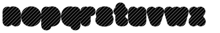 Big Black Grey Xtra Font LOWERCASE