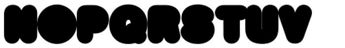 Big Black Xtra Font UPPERCASE