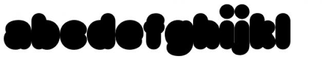 Big Black Xtra Font LOWERCASE