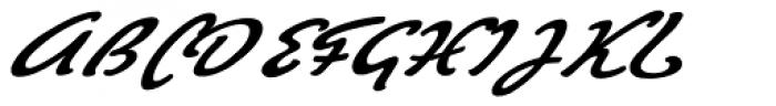 Big Brush Two Font UPPERCASE