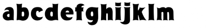 Big Country Font LOWERCASE