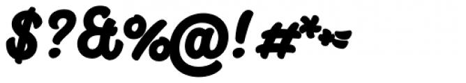 Big Fish Black Font OTHER CHARS