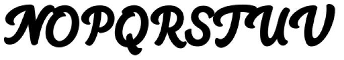 Big Fish Black Font UPPERCASE