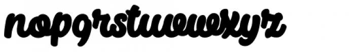 Big Fish Black Font LOWERCASE