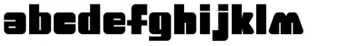 Big Jim Roberts SRF Font LOWERCASE