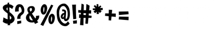 Big Limbo BT Font OTHER CHARS