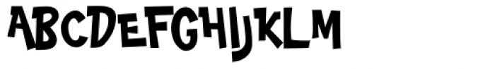 Big Limbo BT Font UPPERCASE