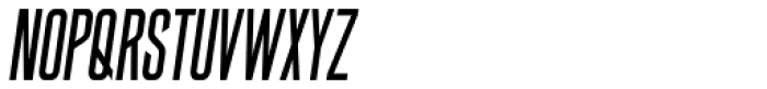 Big Medium Italic Font UPPERCASE