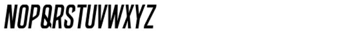 Big Medium Italic Font LOWERCASE