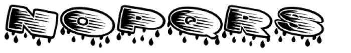 Big Rain Special Font UPPERCASE