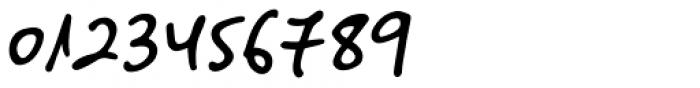 Big River Script Slant Font OTHER CHARS