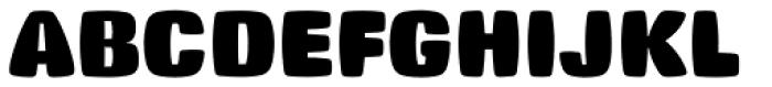 Big Stuff Font UPPERCASE