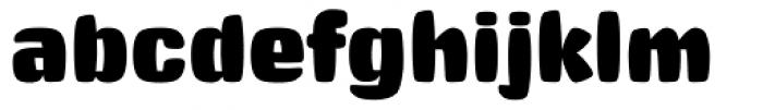 Big Stuff Font LOWERCASE