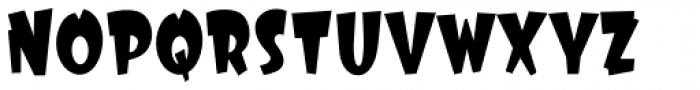 Big Top Acrobat Font UPPERCASE