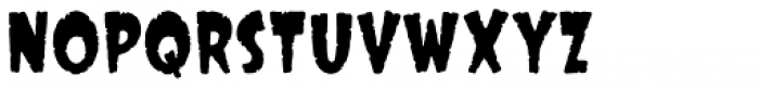 Big Top Fire Eater Font LOWERCASE