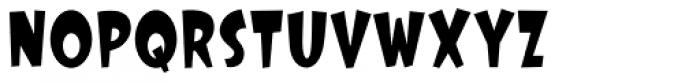 Big Top Stilt Walker Font LOWERCASE