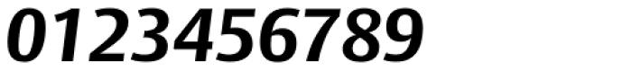 Big Vesta Std Bold Italic Font OTHER CHARS