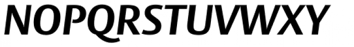 Big Vesta Std Bold Italic Font UPPERCASE