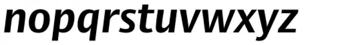 Big Vesta Std Bold Italic Font LOWERCASE