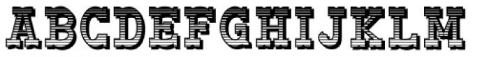 Big Yukon deko Font LOWERCASE