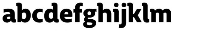 BigCity Grotesque Pro Black Font LOWERCASE