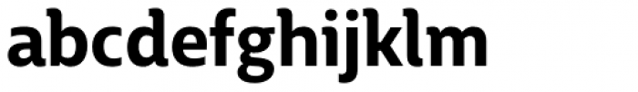 BigCity Grotesque Pro Bold Font LOWERCASE