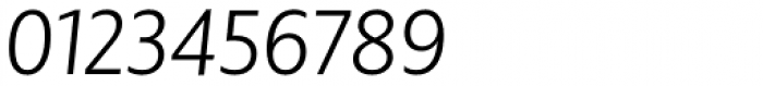 BigCity Grotesque Pro Book Italic Font OTHER CHARS